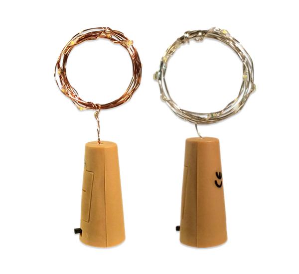 Led korken lichterkette flaschenkorken mit 10 warmwei - Lichterkette ohne kabel ...